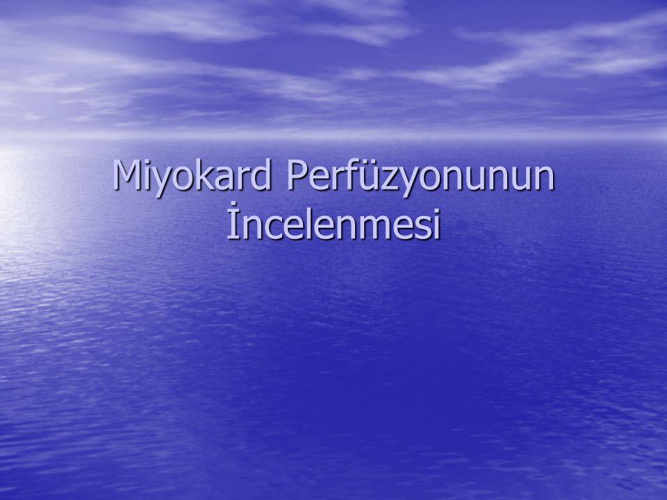 İnferior miyokard infarktüsü Kısa eksen kesitleri