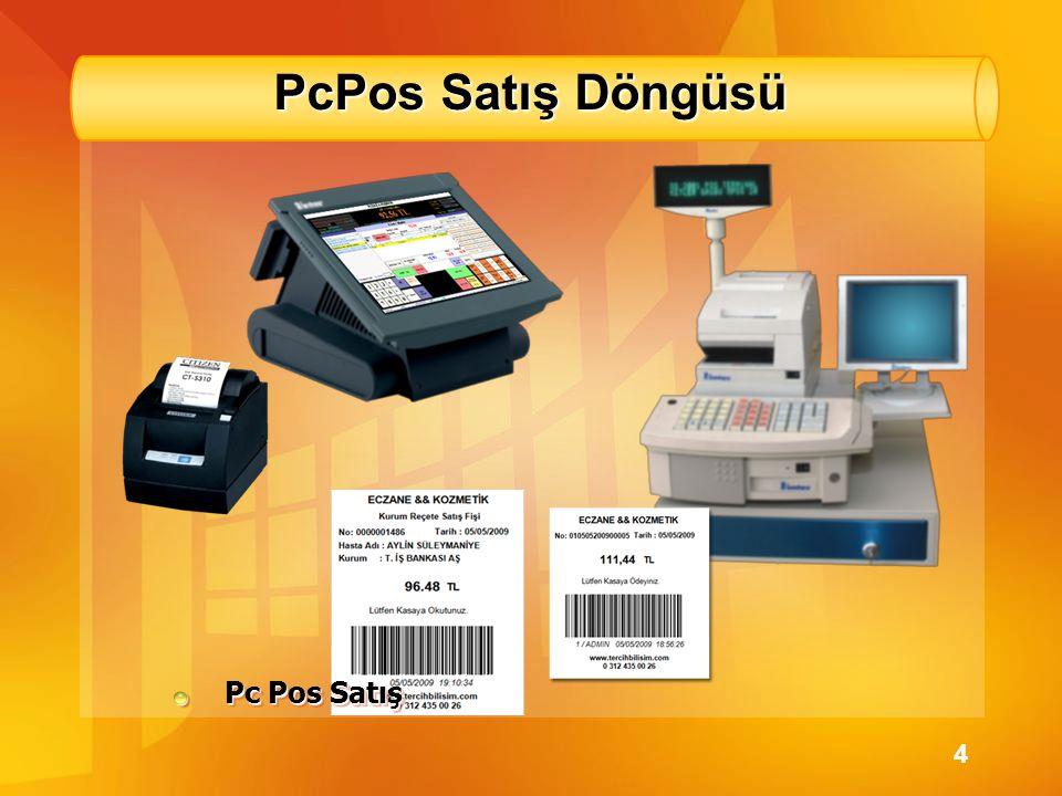 PcPos Satış Döngüsü Pc Pos Satış 4