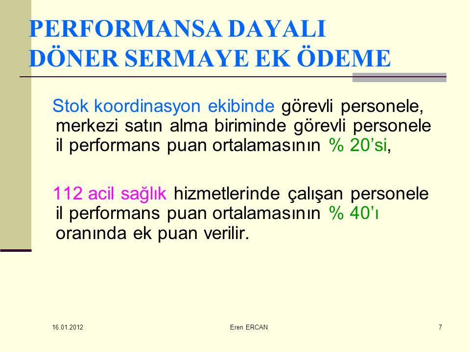 16.01.2012 Eren ERCAN48 EK ÖDEME BİLDİRİMLERİNDE DİKKAT EDİLMESİ GEREKEN HUSUSLAR