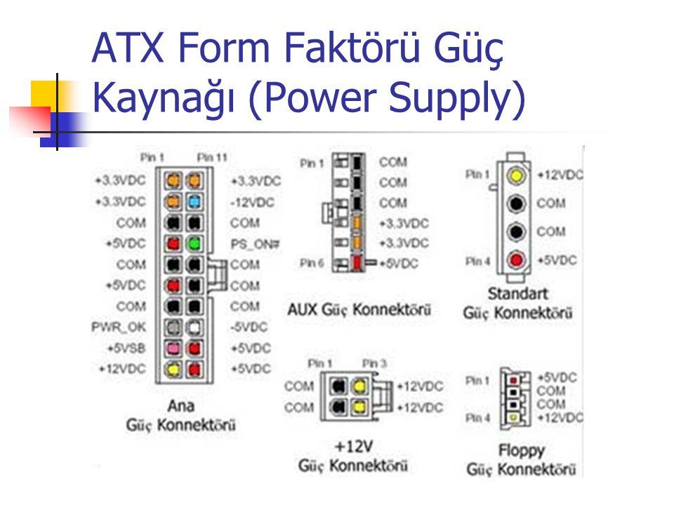 ATX Form Faktörü Güç Kaynağı (Power Supply)