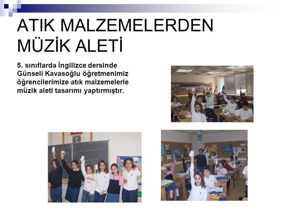ATIK MALZEMELERDEN MÜZİK ALETİ 5.