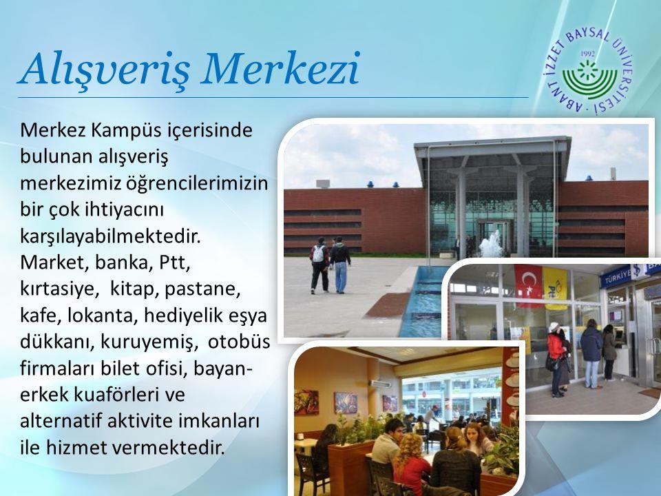Alışveriş Merkezi Merkez Kampüs içerisinde bulunan alışveriş merkezimiz öğrencilerimizin bir çok ihtiyacını karşılayabilmektedir.