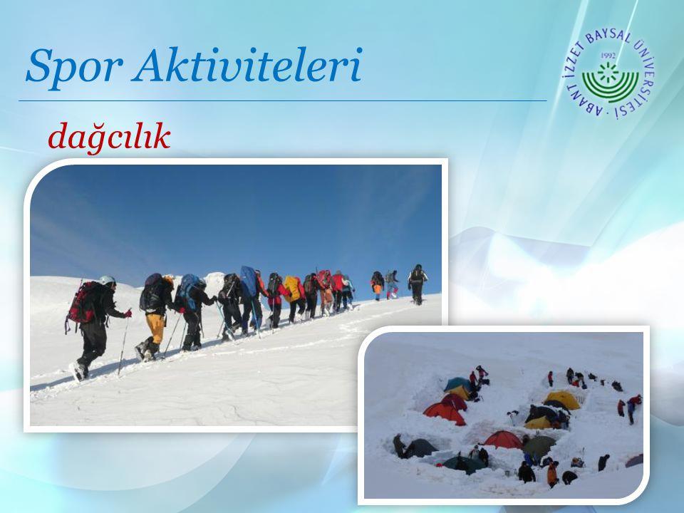 Spor Aktiviteleri dağcılık