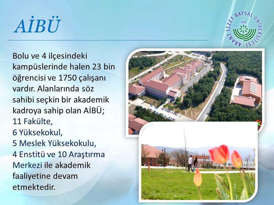 Bolu ve 4 ilçesindeki kampüslerinde halen 23 bin öğrencisi ve 1750 çalışanı vardır.