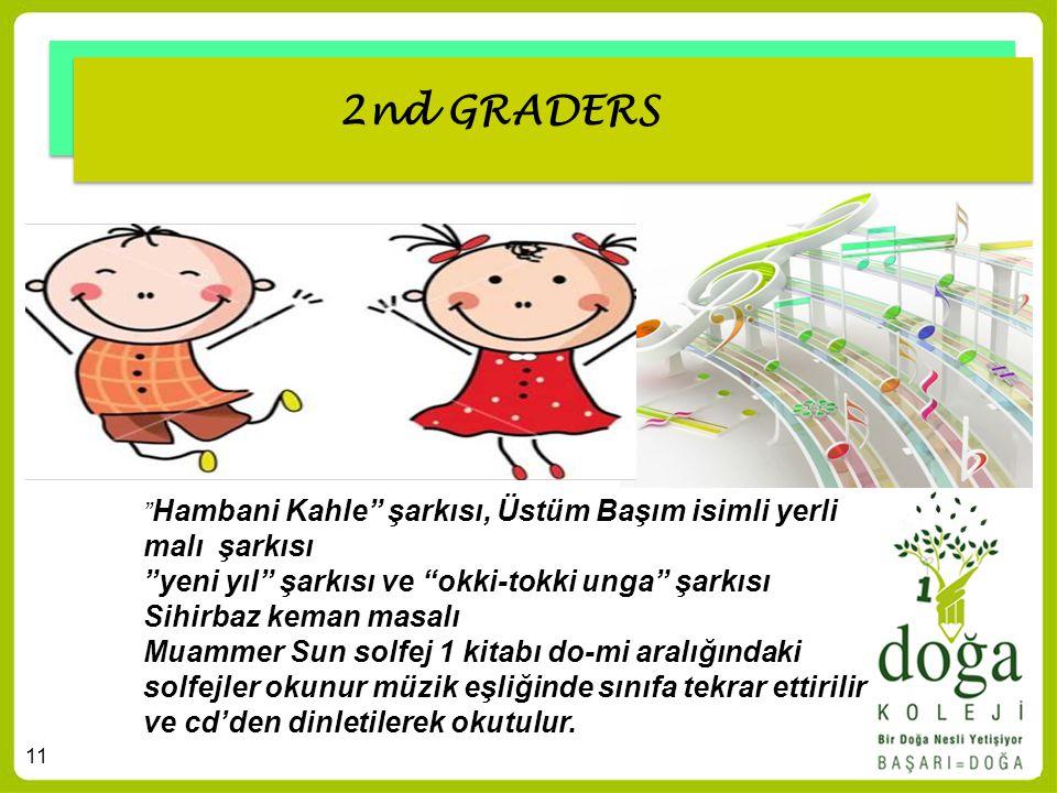 """11 2nd GRADERS """" Hambani Kahle"""" şarkısı, Üstüm Başım isimli yerli malı şarkısı """"yeni yıl"""" şarkısı ve """"okki-tokki unga"""" şarkısı Sihirbaz keman masalı M"""