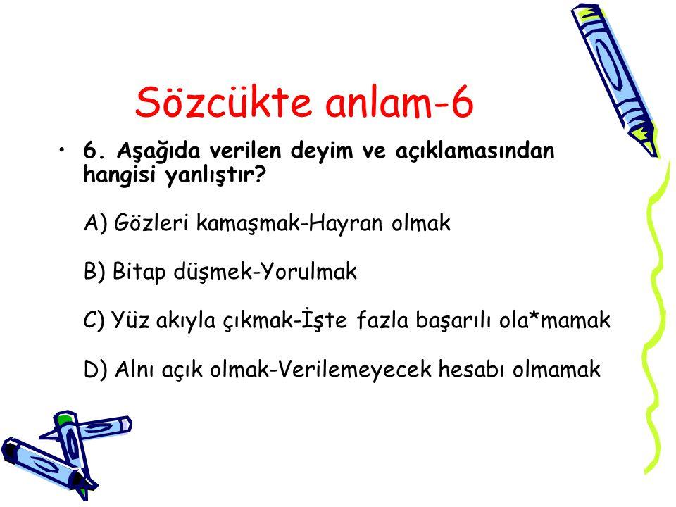 Cevap 6C