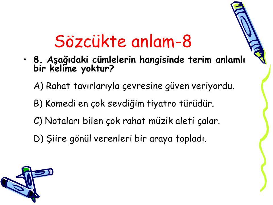 Cevap 8A