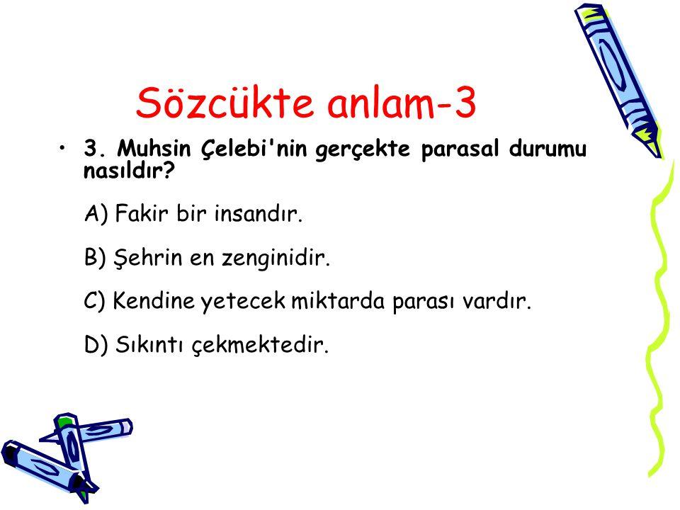 Cevap 3C