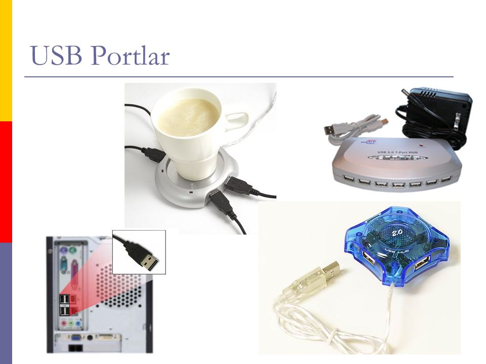 USB Portlar
