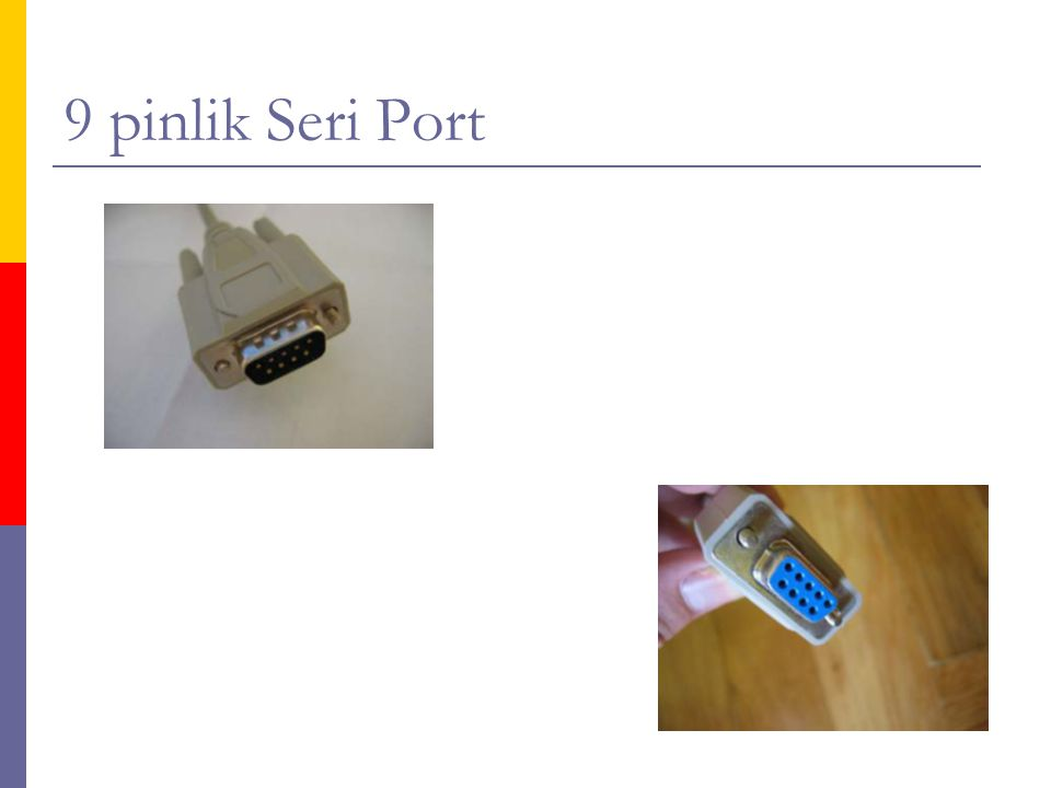 9 pinlik Seri Port