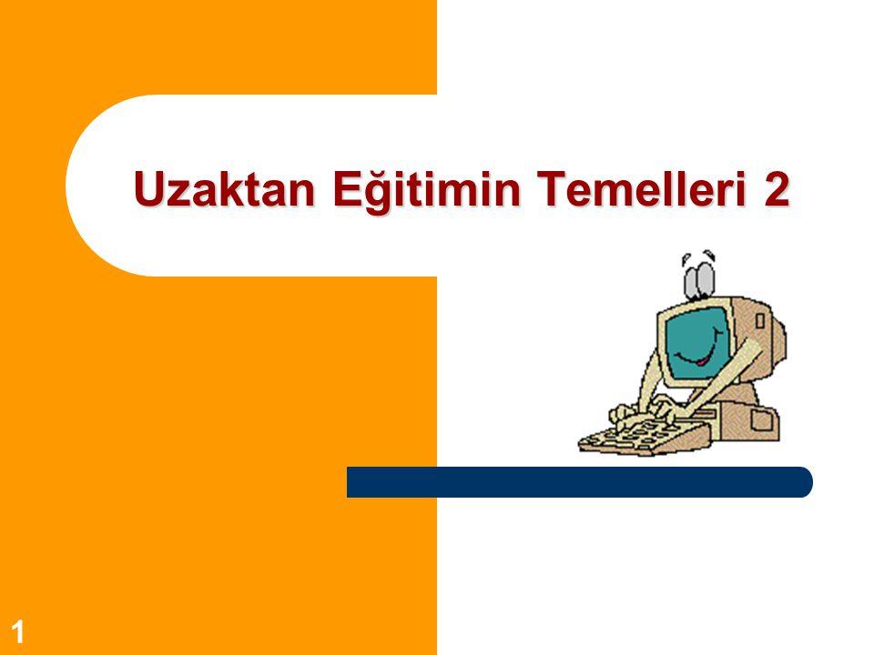12 Türkiye'den Örnekler 5.FIRAT ÜNİVERSİTESİ (Uzaktan Eğitim Programı) www.firat.edu.tr 1.