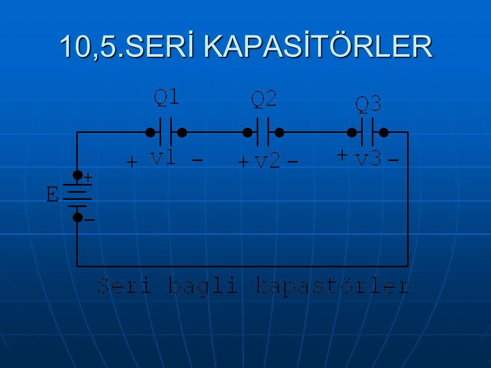 10,5.SERİ KAPASİTÖRLER
