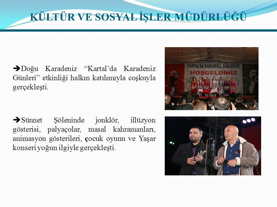  Doğu Karadeniz Kartal'da Karadeniz Günleri etkinliği halkın katılımıyla coşkuyla gerçekleşti.