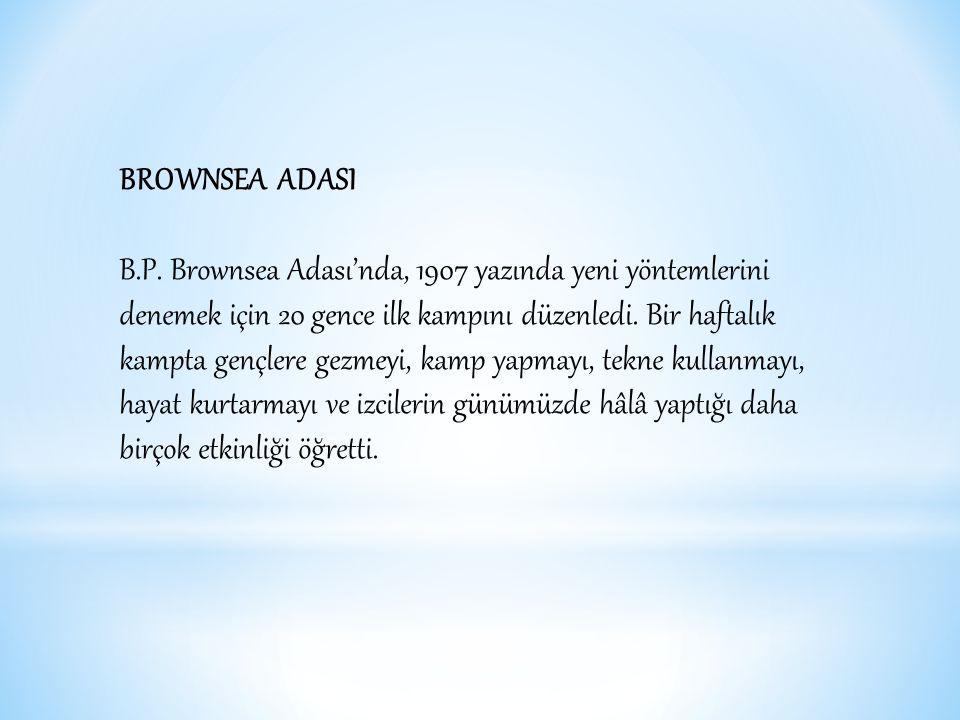 BROWNSEA ADASI B.P.
