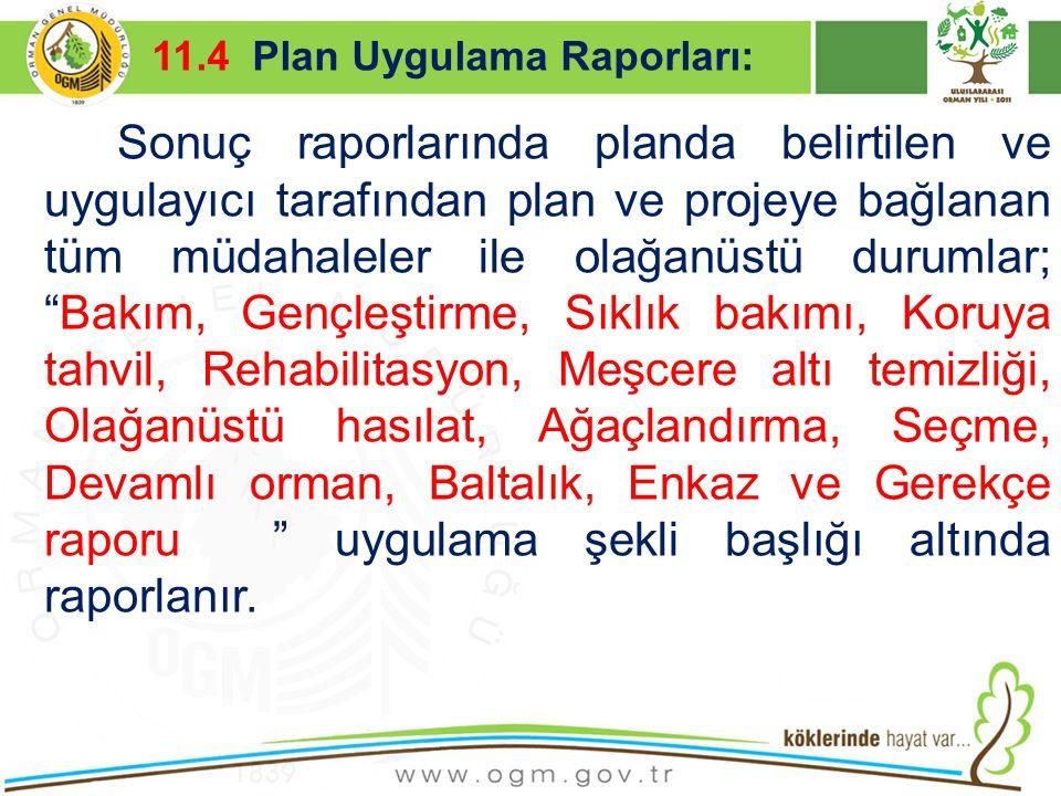 16/12/2010 Kurumsal Kimlik 43 Sonuç raporlarında planda belirtilen ve uygulayıcı tarafından plan ve projeye bağlanan tüm müdahaleler ile olağanüstü du
