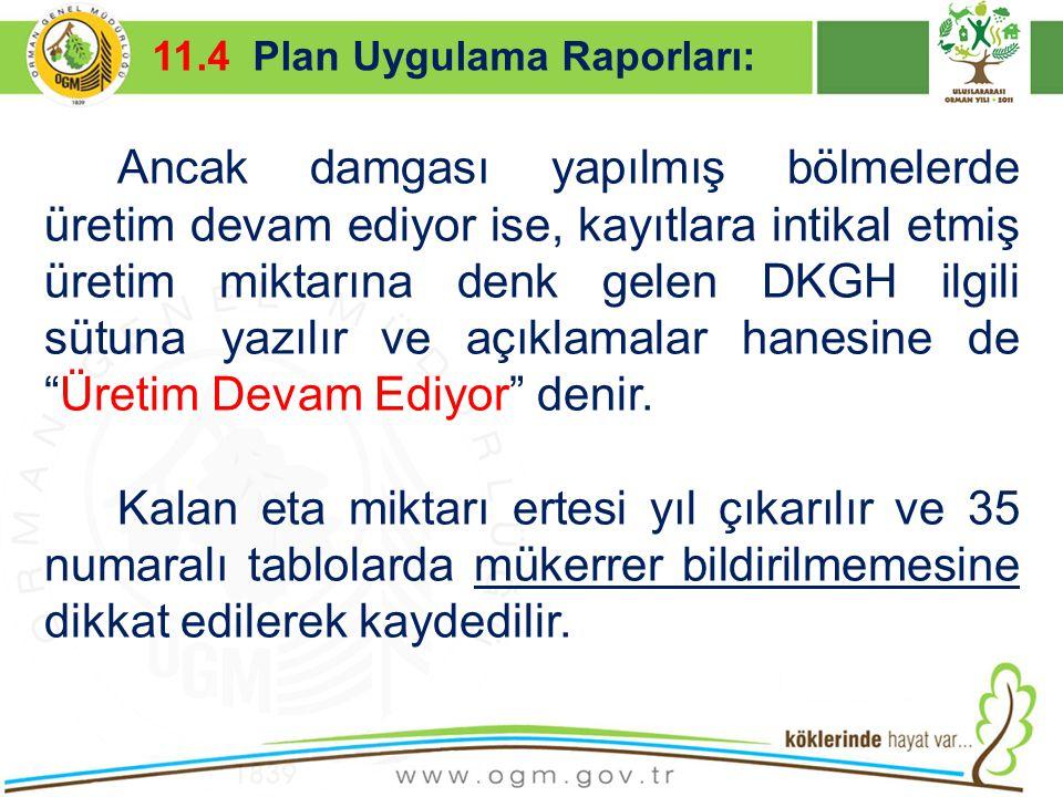 16/12/2010 Kurumsal Kimlik 48 Ancak damgası yapılmış bölmelerde üretim devam ediyor ise, kayıtlara intikal etmiş üretim miktarına denk gelen DKGH ilgi