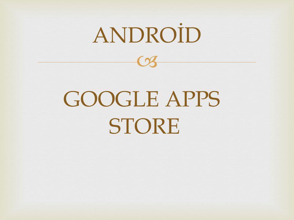   Android market android işletimi sisteminize yüklemek için oyun,uygulama ve temaları ücretsiz veya ücretli olarak indirebileceğimiz android'in resmi sitesidir  Markete ulaşmanın birden fazla yolu var ama Pcden ulaşmak istersek anasayfamız ola google'dan üst taraftaki «Play» butonuna basmamız yeterli olacaktır.