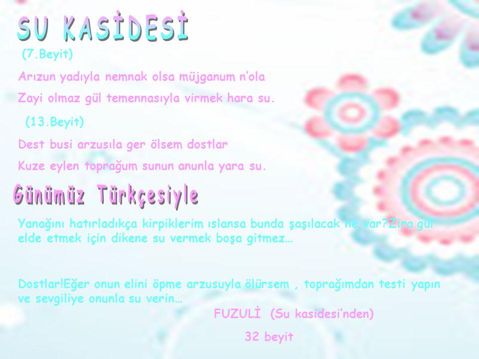  Divan edebiyatı nazım şekilerindendir. Türklerin bulduğu ve çok kullandığı şiir türüdür.