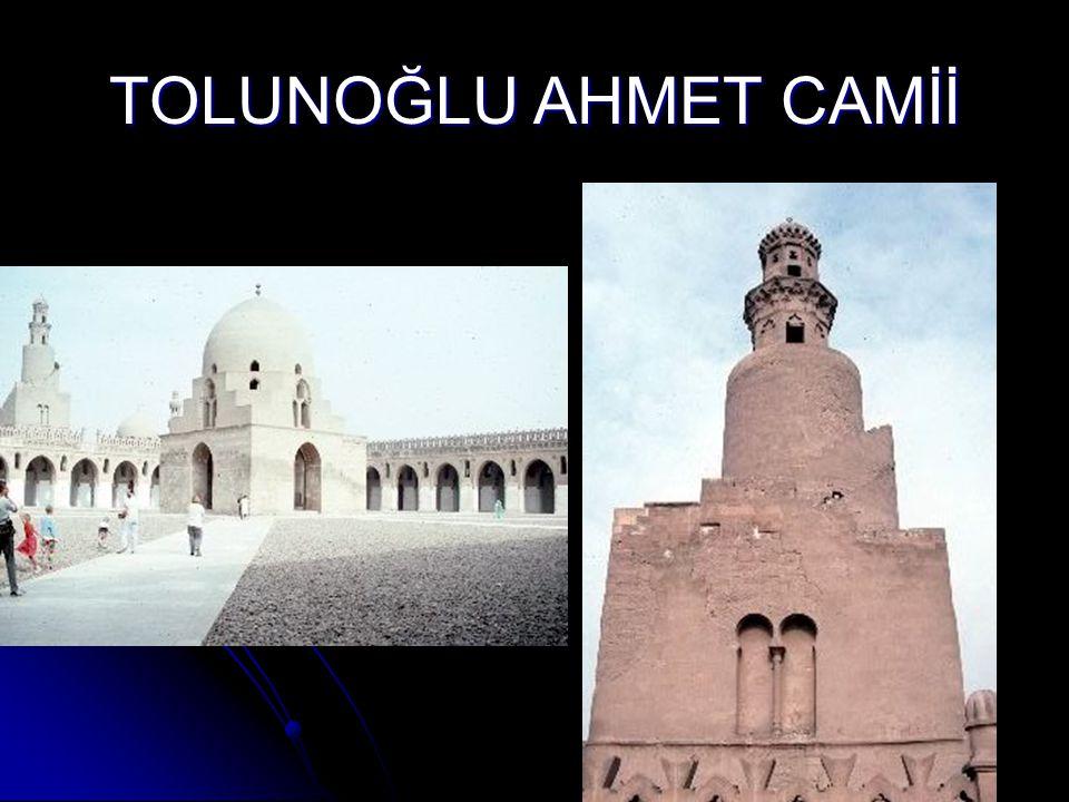 TOLUNOĞLU AHMET CAMİİ
