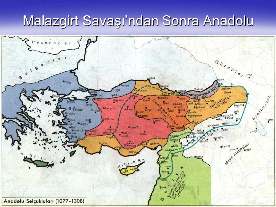 Malazgirt Savaşı'ndan Sonra Anadolu