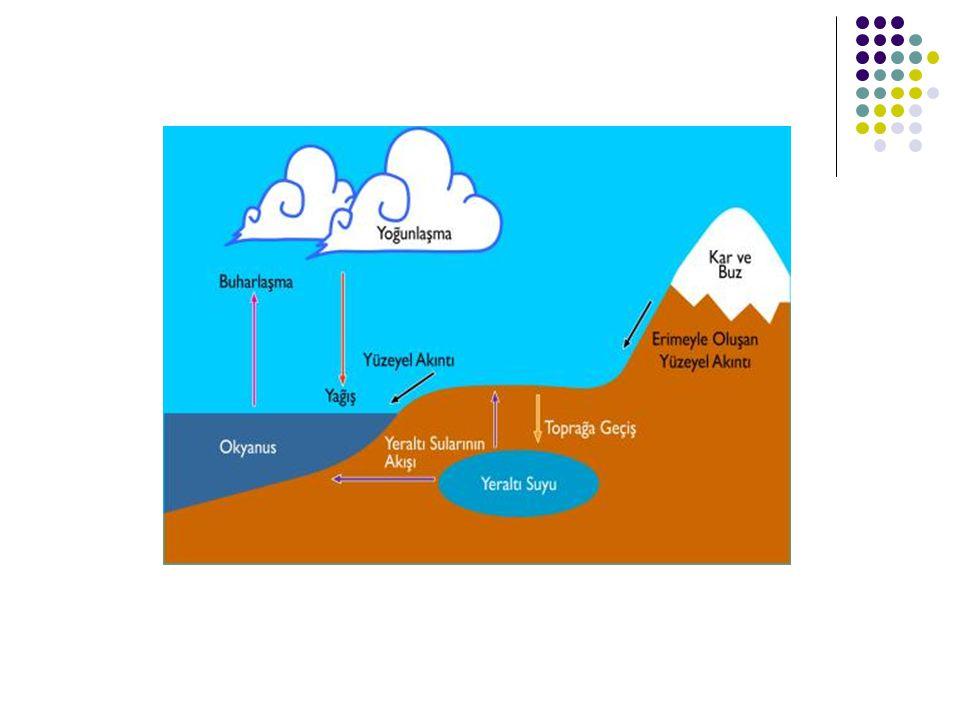 1.Arazinin geçirimlilik derecesi, 2.Yağış miktarı, 3.Yağışın şekli, 4.Sıcaklık ve buharlaşma, 5.Arazinin eğimi, 6.Bitki örtüsü.