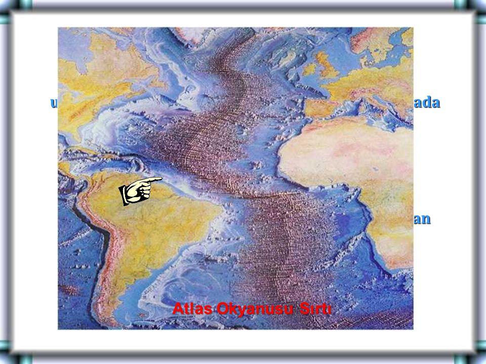 Okyanus tabanlarında levhaların birbirinden uzaklaştıkları yerlerde magma a ç ığa ç ıkarak burada okyanus ortası sırtlarını oluşturur. Ö rnek: Atlas o