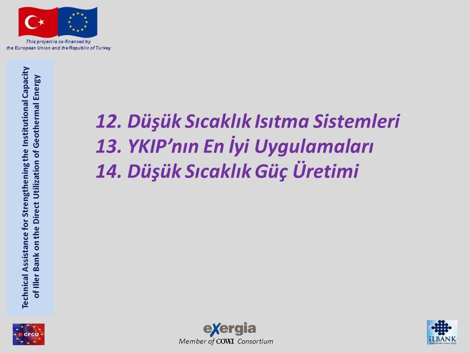 Member of Consortium This project is co-financed by the European Union and the Republic of Turkey Eğitim materyalleri kaynakları 1.Fip-Treet (Energy Efficiency Finance kit) 2.http://geopower-i4c.eu 3.http://geotrainet.eu 4.http://www.geothermie.de 5.http://www.groundhit.eu 6.http://www.groundreach.eu 7.http://www.lowbin.eu 8.http://www.sanner-geo.de 9.Karytsas C.