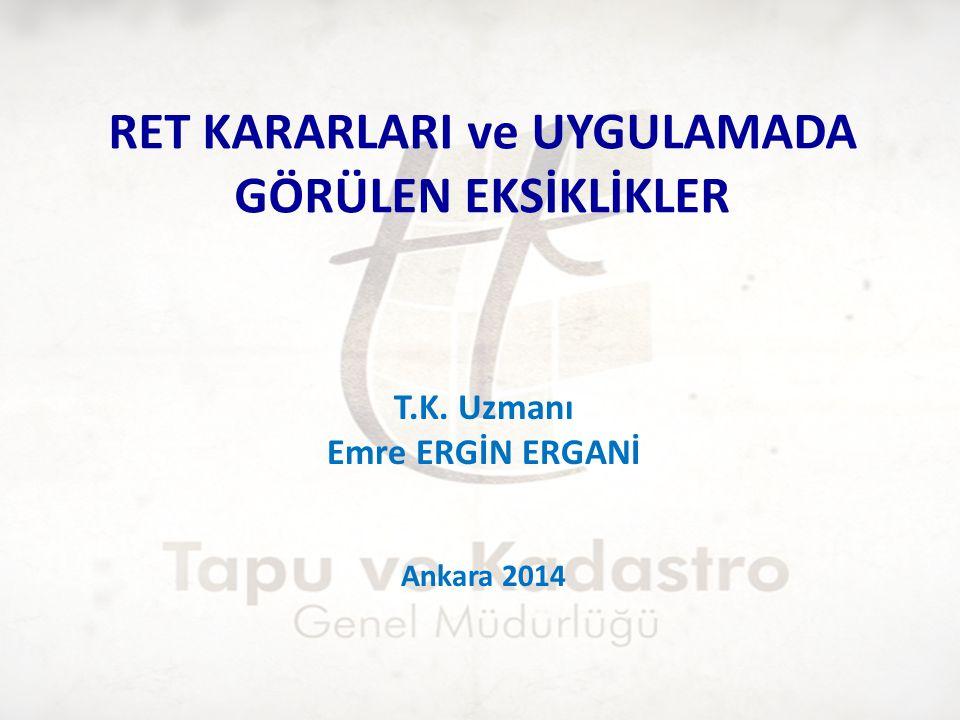 1.Mevzuatta Ret Kararları 4721 Sayılı Türk Medeni Kanunu MADDE 1016.