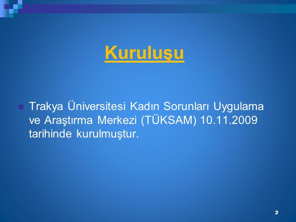 TÜKSAM Yönetim Kurulu Yrd.Doç. Dr. Ebru Z. BOYACIOĞLU (Müdür) İ.İ.B.F Doç.