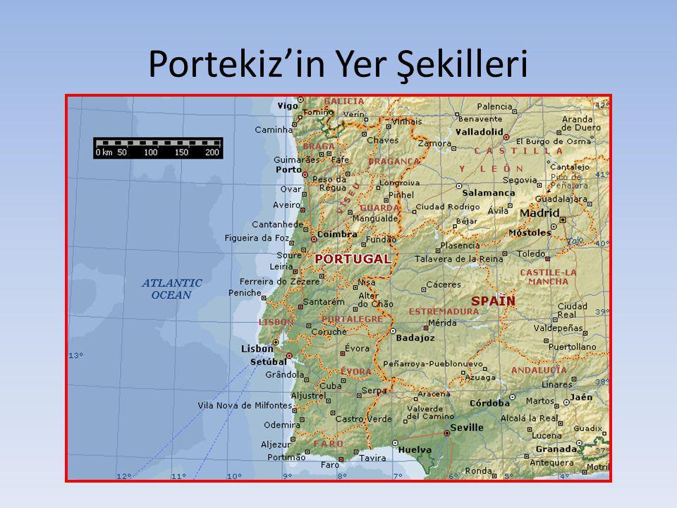 Portekiz'in Yer Şekilleri