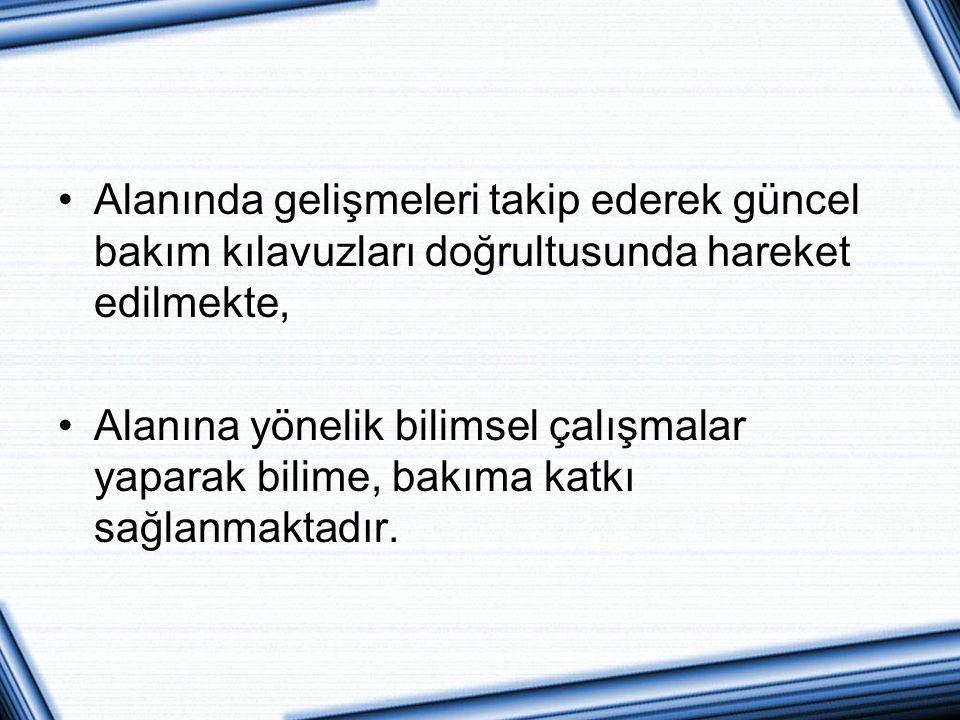 AMACIMIZ Çalışmamız hemşirelik mesleğinde branşlaşmanın önemi dahilinde planlanmış, İstanbul Anadolu Kuzey Kamu Hastaneleri Birliği Genel Sekreterliği bünyesinde yer alan hastanelerdeki sertifikalı hemşirelerin beş yıllık süreçteki değişim ve durum analizini belirlemek amacı ile gerçekleştirilmiştir.