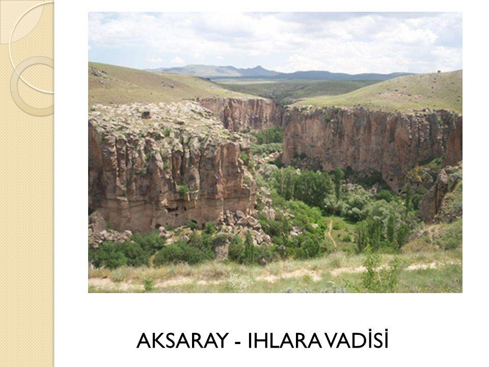 AKSARAY - IHLARA VAD İ S İ