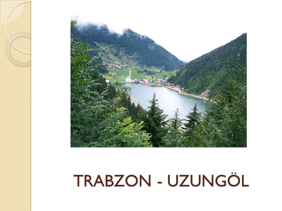 TRABZON - UZUNGÖL TRABZON - UZUNGÖL