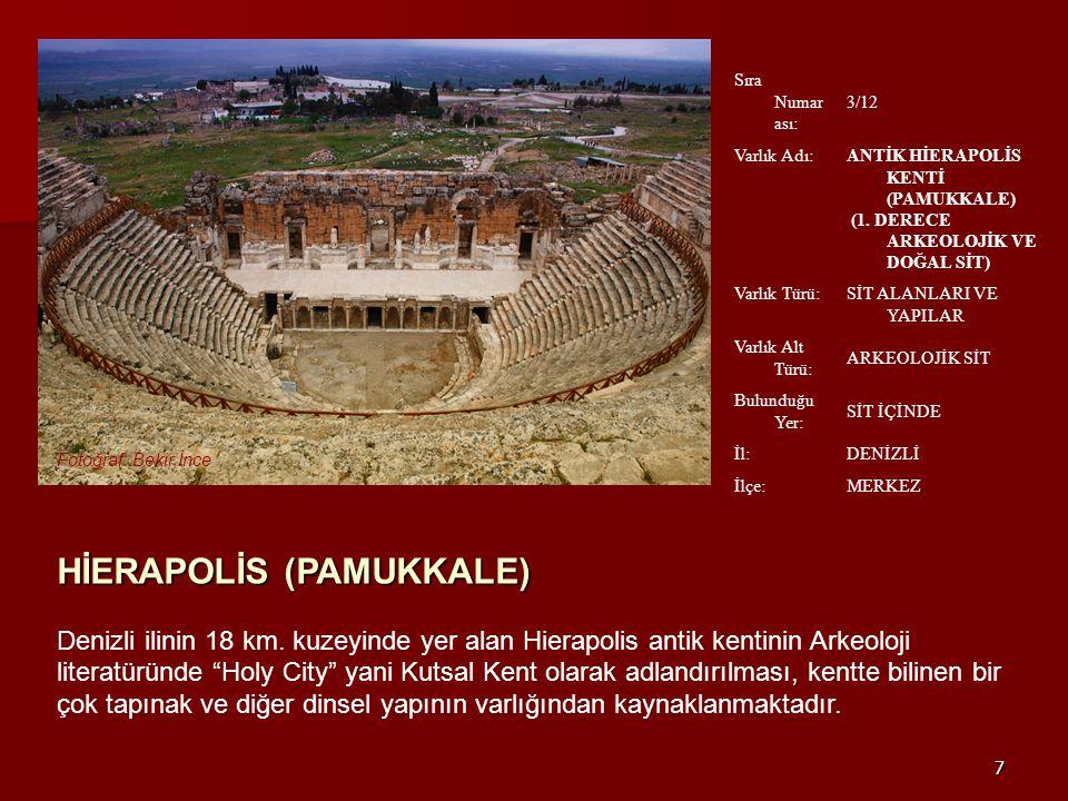 18 Laodikeia, MÖ.I. yüzyılda Anadolu nun en önemli ve ünlü kentlerinden biridir.
