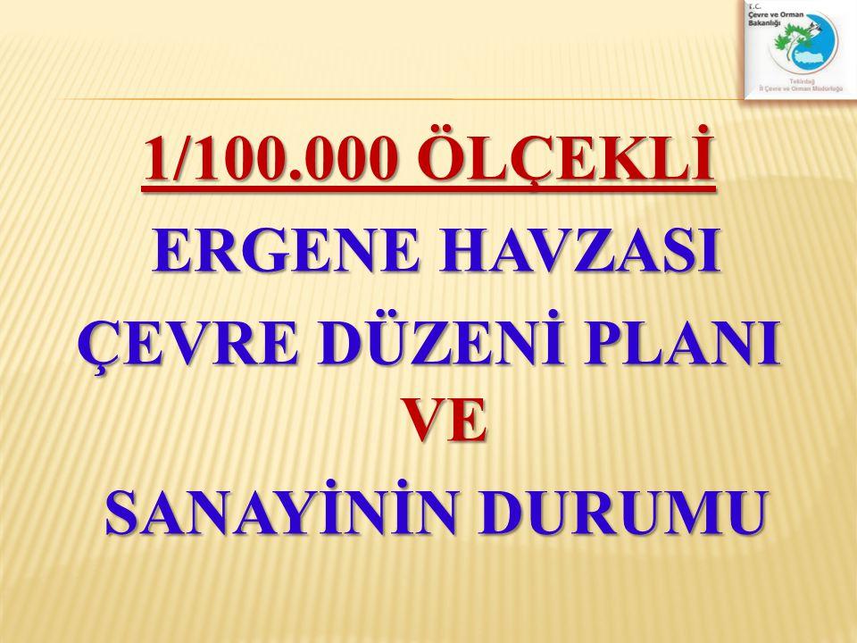 Çerkezköy OSB  Faaliyete başlama:1973  Alan (Hektar): 1330  Parsel sayısı : 382  Tahsis edilen parsel : 339  Faal tesis sayısı : 217  Çalışan sayısı(kişi): 30.000
