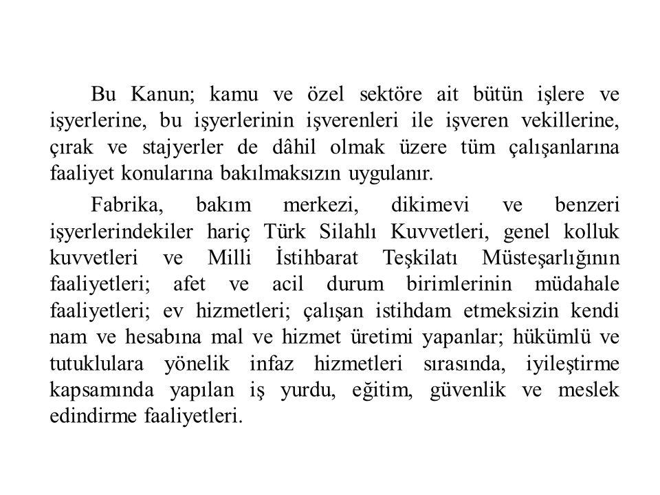 ç) 10 uncu maddesinin birinci fıkrasına göre risk değerlendirmesi yapmayan veya yaptırmayan işverene üçbin Türk Lirası, aykırılığın devam ettiği her ay için dörtbinbeşyüz Türk Lirası, dördüncü fıkrasında belirtilen yükümlülükleri yerine getirmeyen işverene binbeşyüz Türk Lirası, (İşveren, iş sağlığı ve güvenliği yönünden çalışma ortamına ve çalışanların bu ortamda maruz kaldığı risklerin belirlenmesine yönelik gerekli kontrol, ölçüm, inceleme ve araştırmaların yapılmasını sağlar.)