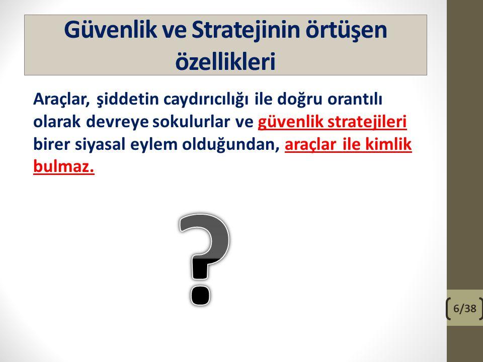 Çatışmacı güvenlik stratejileri 2- Ekonomik yöntemler, a- Boykot, b- Ambargo, c- Abluka.