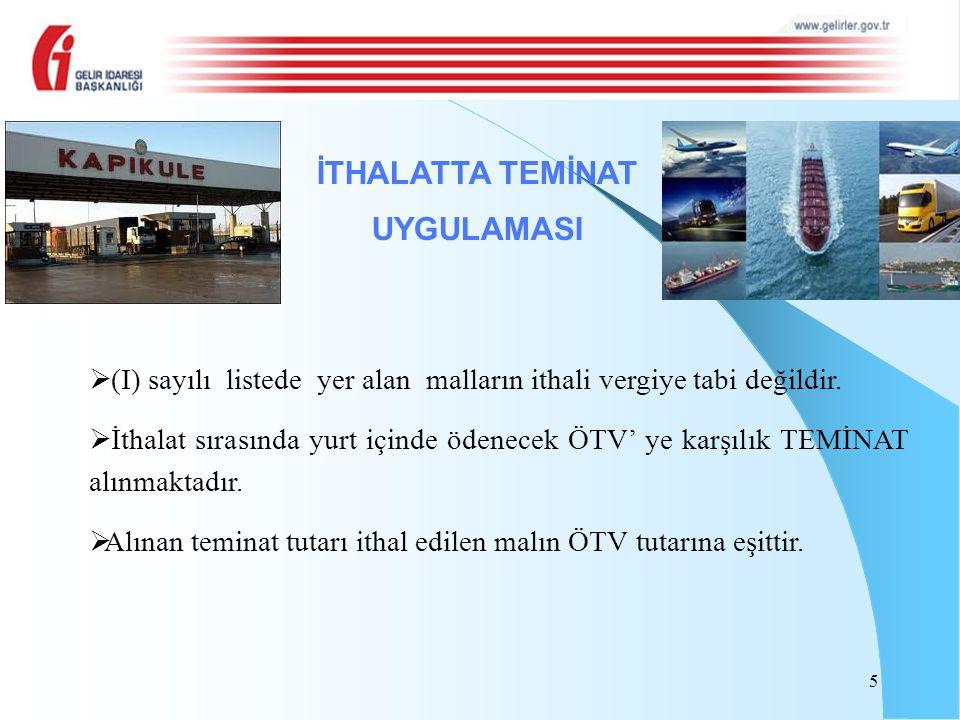 10/10/2012 tarihinde ÖTV'si ödenerek satın alınan 1.000 kg baz yağın 200 kg'si 3/11/2012 tarihinde yağlama müstahzarı isimli mallardan birinin imalatında kullanılarak, imal edilen bu mal 15/12/2012 tarihinde ihraç edilmek üzere ihracatçıya teslim edilmiş ve ihracat 10/3/2013 tarihinde gerçekleşmiştir.