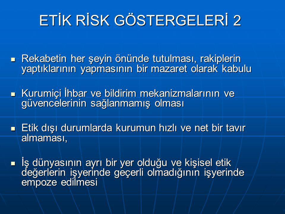 Bir etik programın incelenmesinde dikkat edilecek hususlar 1  Öncelikle iyi bir etik programın içermesi gereken hususları içerip içermediği açısından irdelenmelidir.