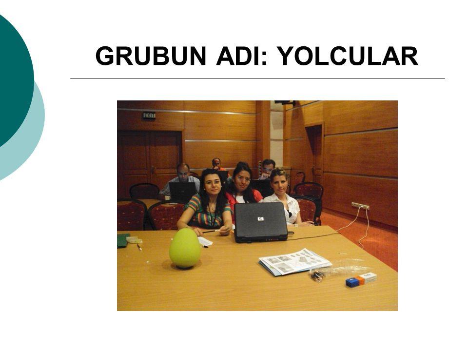 GRUBUN ADI: YOLCULAR