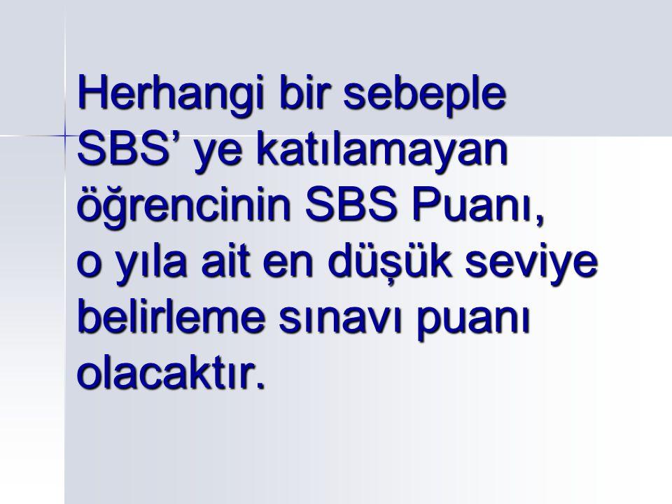  SBS kaç sorudan oluşmaktadır.6. Sınıf: Türkçe 19 Matematik 16 Fen Bilgisi 16 Sosyal Bilg.