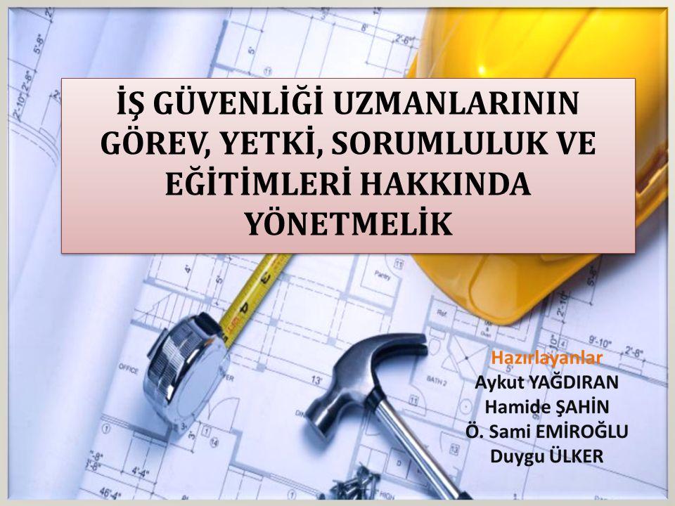 4-) Eğitim, bilgilendirme ve kayıt; (a) (a) Çalışanların iş sağlığı ve güvenliği eğitimlerinin mevzuata uygun olarak planlan ması konusunda çalışma yaparak işverenin Onayına sunmak ve uygulamalarını yapmak (b) (b) Çalışma ortamıyla ilgili iş sağlığı ve güvenliği çalışmaları ve çalışma ortamı gözetim sonuçlarının kaydedildiği yıllık değerlendirme raporunu işyeri hekimi ile işbirliği halinde hazırlamak.
