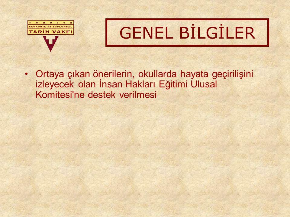 İLETİŞİM Laden Yurttagüler Tarih Eğitimi Programı lyurttaguler@tarihvakfi.org.tr Tel: (212) 2273733/104 Fax: (212) 2273732