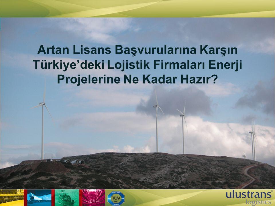 Artan Lisans Başvurularına Karşın Türkiye'deki Lojistik Firmaları Enerji Projelerine Ne Kadar Hazır?