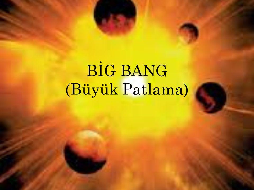 BİG BANG (Büyük Patlama)