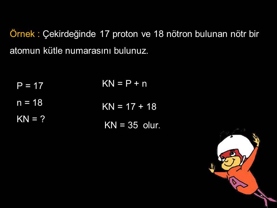 MADDENİN YAPI TAŞLARI MADDE : Uzayda yer kaplayan kütlesi,hacmi ve eylemsizliği olan her şeye denir. Örnek : Çekirdeğinde 17 proton ve 18 nötron bulun