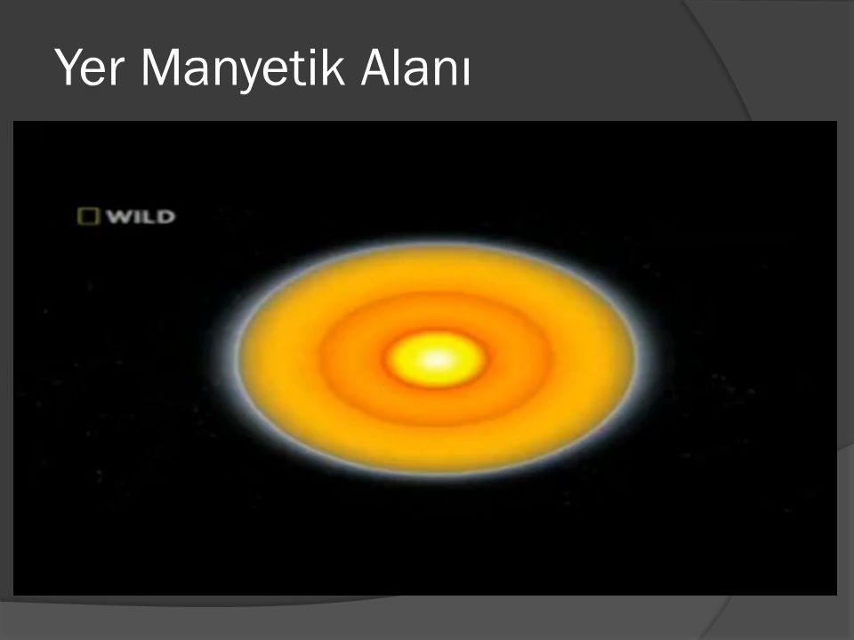 Kaynaklar  Fen ve Mühendislik İçin Fizik 2 (Servay Beichner)  http://tr.wikipedia.org/wiki/Manyetik_alan  http://www.ehli-beyt.net/yazilar-goster-62- dunyanin_manyetik_alani_nasil_olusuyor_dinamik_cekirdek_teorisi_ nedir.html