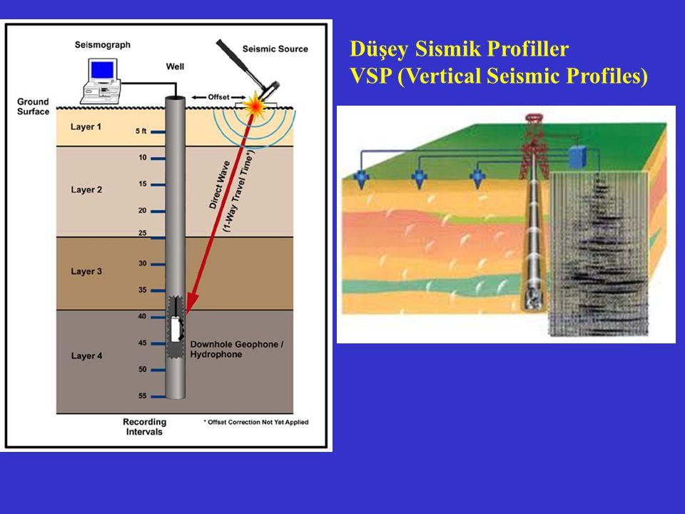 Düşey Sismik Profiller VSP (Vertical Seismic Profiles)