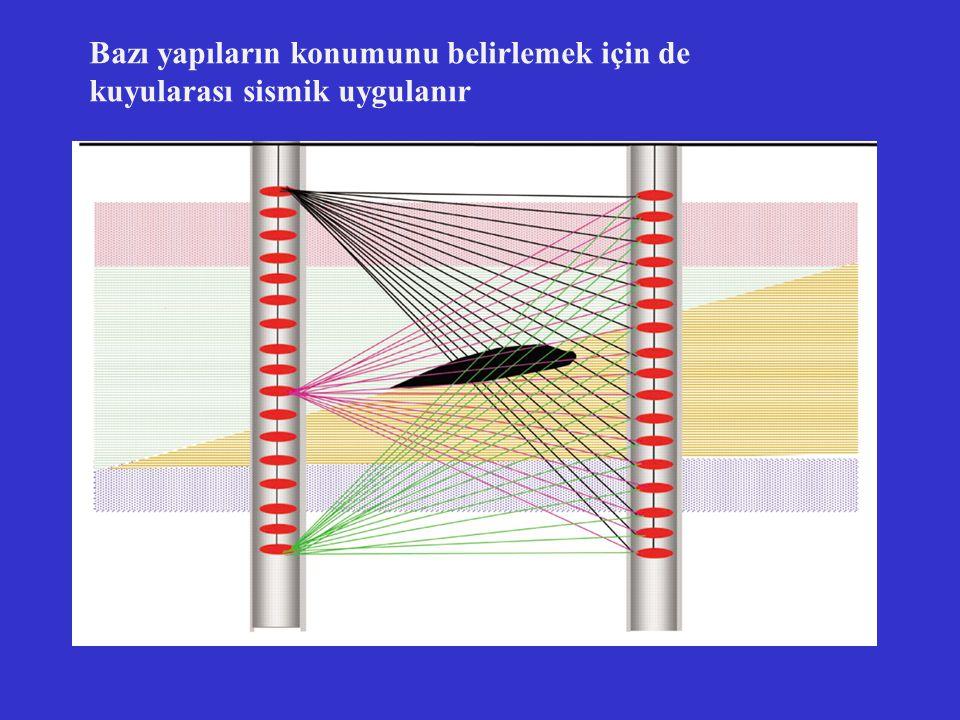 Bazı yapıların konumunu belirlemek için de kuyularası sismik uygulanır