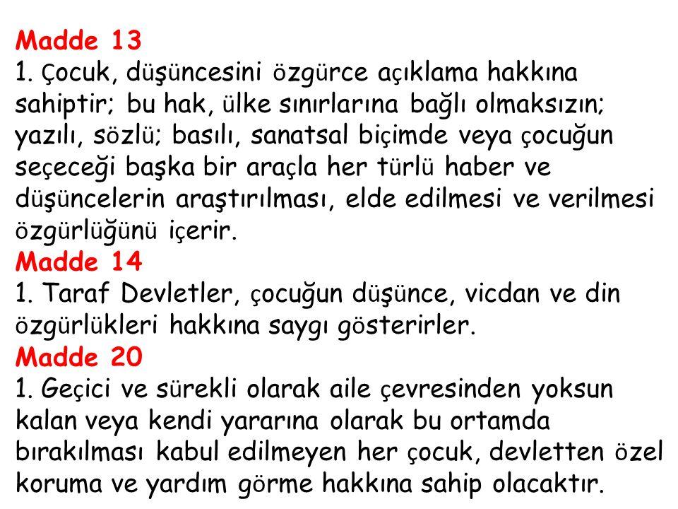 Madde 13 1.